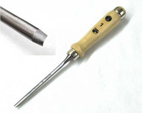 """6mm (1/4"""") Ulmia Firmer Gouge"""