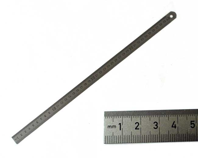400mm Flexible Stainless Steel Ruler